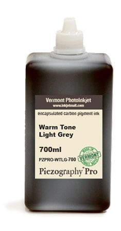 [PZPRO-WT-LG-700] Piezography Pro, Warm Tone, Light Grey, 700ml