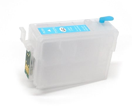 [RCS-R3000-NB-LC] ReUsable Cart, Auto-Reset Chip - R3000 -  Light Cyan