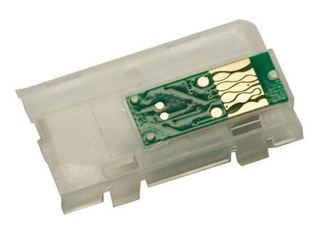 [CHIP-4900-NB-ASMB-LK] Spare Auto Reset Chip for our 4900 cart - Light Black