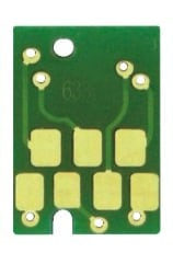 [CHIP-T5657-ASMB] Spare Reset Chip for our 4800 cart - Light Black