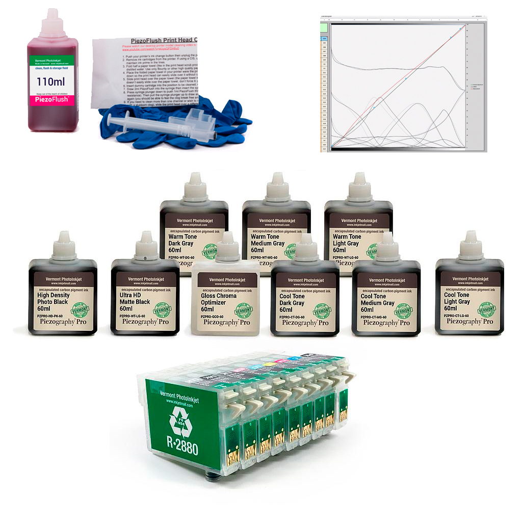 Photo R2880 - Piezography Pro Complete Print & Digital Negative System, 60ml