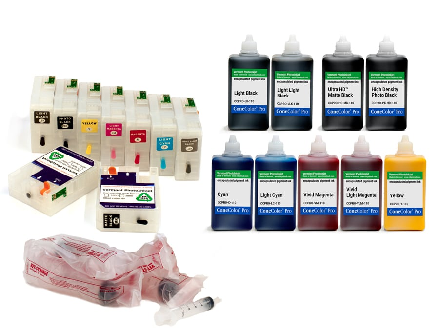 "SureColor P800 - 110mL - ConeColor Pro HD archival color ink system ""Chipless Solution"""