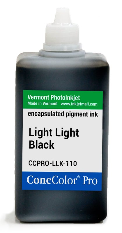 [CCPRO-LLK-110] ConeColor Pro ink, 110ml, Light Light Black
