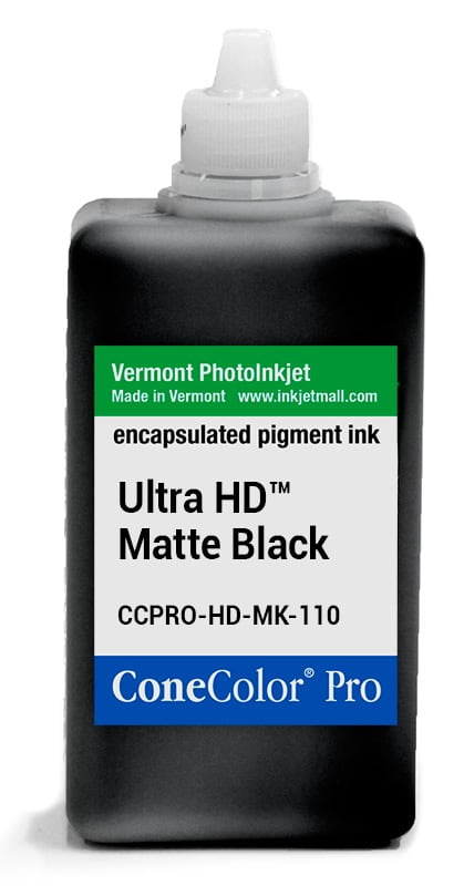 [CCPRO-HD-MK-110] ConeColor Pro ink, 110ml, UltraHD™ Matte Black