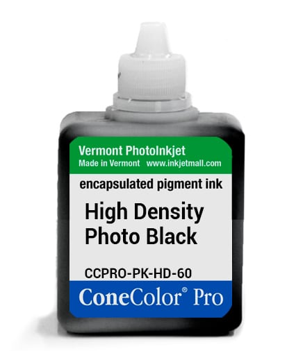 [CCPRO-PK-HD-60] ConeColor Pro ink, 60ml, HD Photo Black