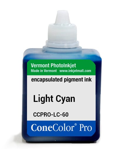[CCPRO-LC-60] ConeColor Pro ink, 60ml, Light Cyan