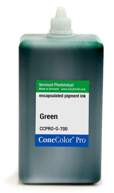 [CCPRO-G-700] ConeColor Pro ink, 700ml, Green