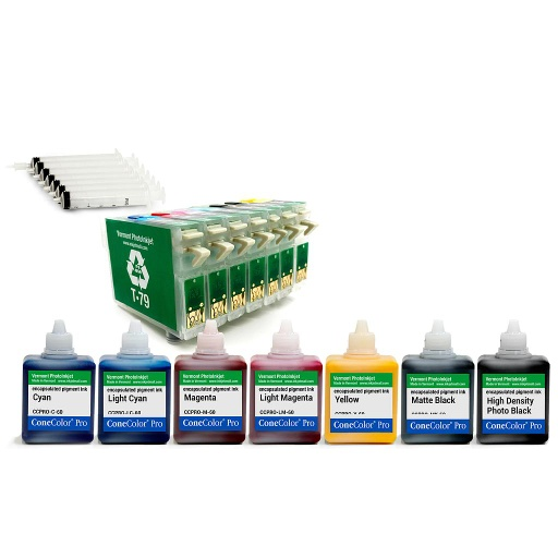 [CCPRO-1400-RCS-60] ConeColor Pro Pigment Option 60ml Epson 1400, 1430, 1500W  (T79 version)