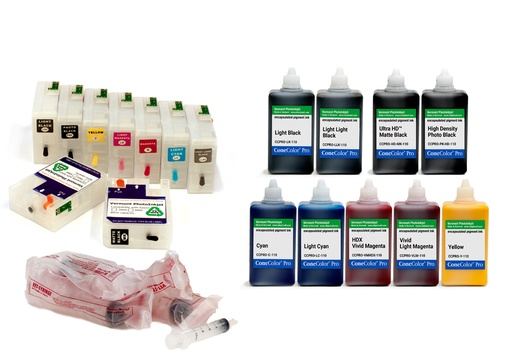 [CCP-3800-110-KIT9HD] Pro 3800 -  ConeColor Pro HD archival color ink system, 110ml