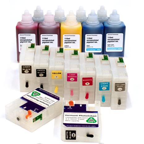[CCP-3880-110-KIT9PKHD] Pro 3880 -  ConeColor Pro HD archival color ink system, 110ml