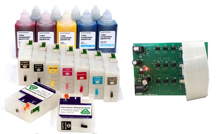 [CCP-P800-DEC-110-KIT9] SureColor P800 - ConeColor Pro HD archival color ink system with Decoder Board - 110ml