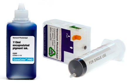[CCP-38XX-110-C-KIT] ConeColor Pro, 3800-3880 Refill Cartridge, 110ml Ink, Cyan
