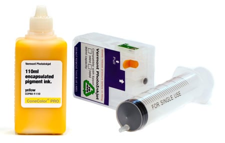 [CCP-38XX-110-Y-KIT] ConeColor Pro, 3800-3880 Refill Cartridge, 110ml Ink, Yellow