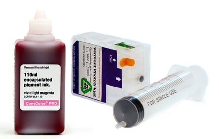 [CCP-3880-110-VLM-KIT] ConeColor Pro, 3880 Refill Cartridge, 110ml Ink, Vivid Light Magenta
