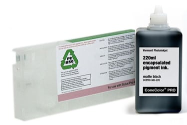 [CCP-4800-220-MK-KIT] ConeColor Pro, 4800, Refill Cartridge, 220ml Ink, Matte Black