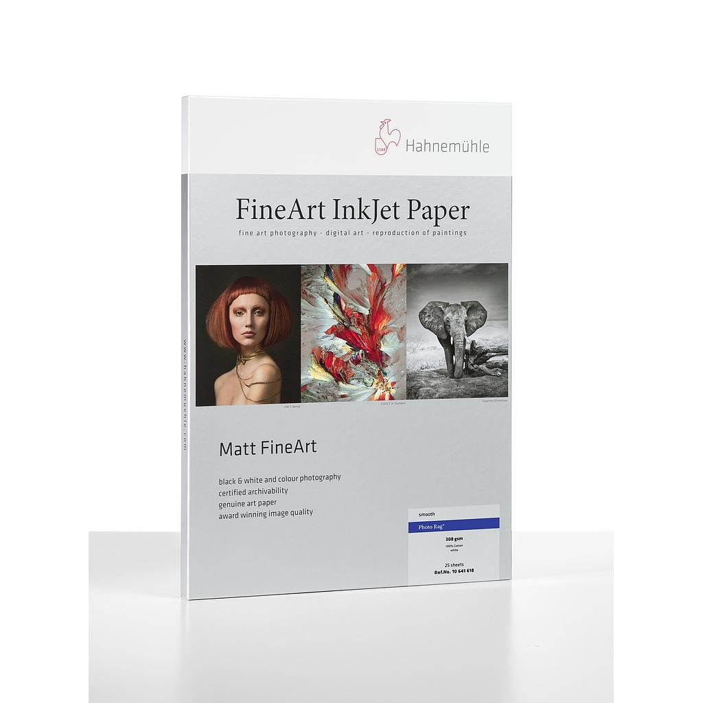 [10641436] Hahnemühle Photo Rag 308 13X19 25 Sheets