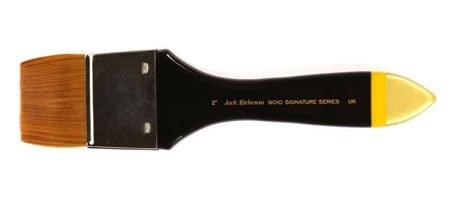 [ACC-BRUSH-JR9010-2IN] Jack Richeson 9000 Series Synthetic Short Alt Process Flat Brush, 2-Inch