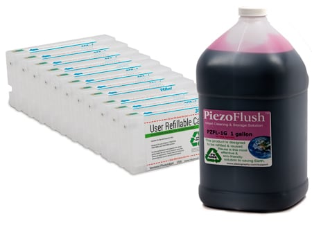 [PZFK-7900-RCS-1G] PiezoFlush® kit for Epson 7900/9900 printers