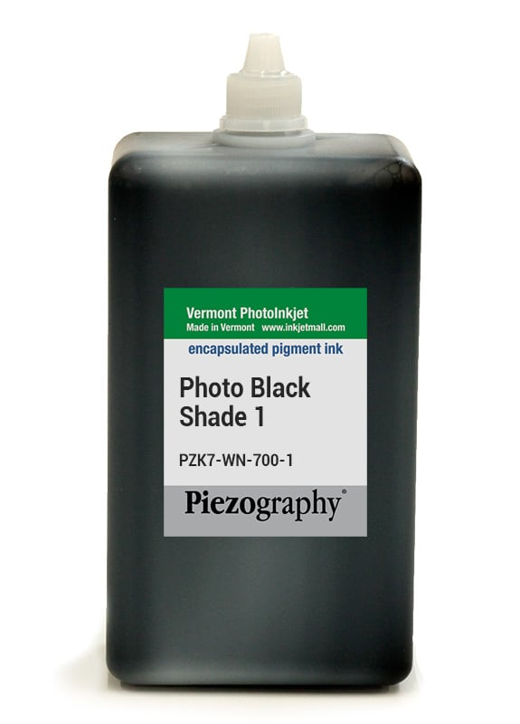 [PZK7-WN-700-1] Piezography, 700ml, Shade 1 Photo Black (Warm Neutral Shade 1, or WN1)