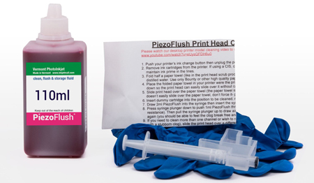 [ACC-110-FLUSH-KIT] PiezoFlush® Cleaning Kit for Epson Desktop Printers
