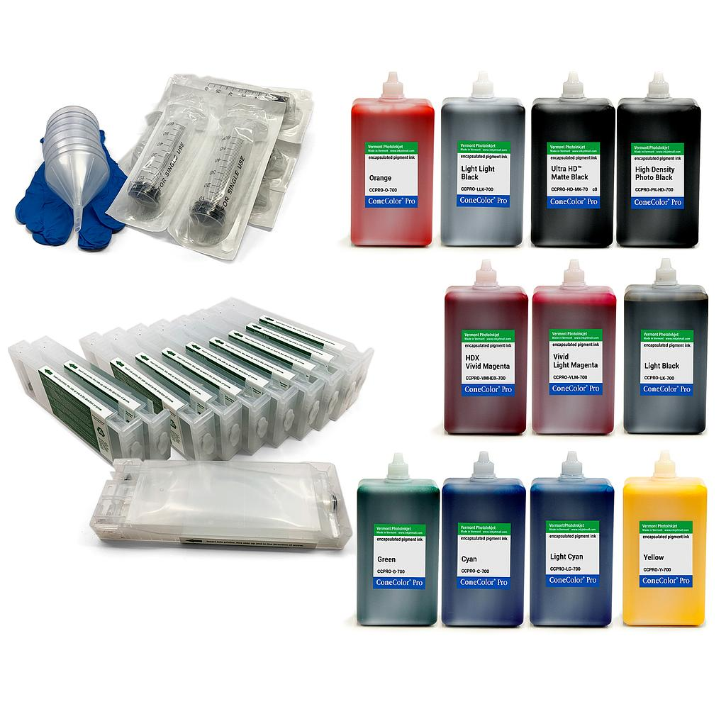 ConeColor Pro 700ml Kit for EPSON SureColor P7000 and P9000