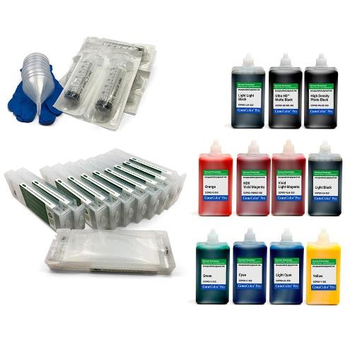 [CCPRO-SCX000-350-KIT11] ConeColor Pro 350ml Kit for EPSON SureColor P7000 and P9000