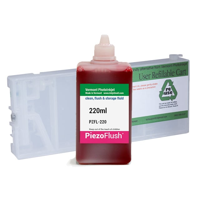 [PZFK-4000-220--M] Single PiezoFlush® cartridge combo, Epson 4000 7600 9600 printers M position