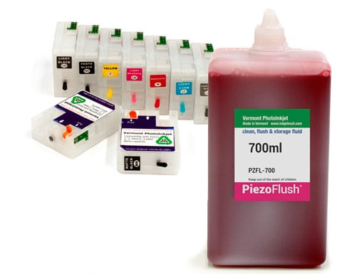 "[PZFK-P800-700-ND] PiezoFlush® kit for Epson SureColor P800 ""Chipless Solution"""