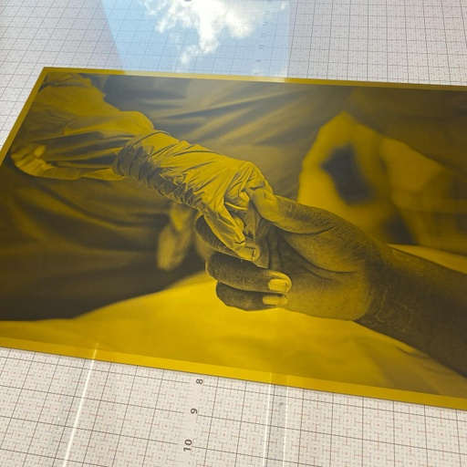 [CEP-A1-plate] A1 sized, ready-to-print photogravure plate from your image